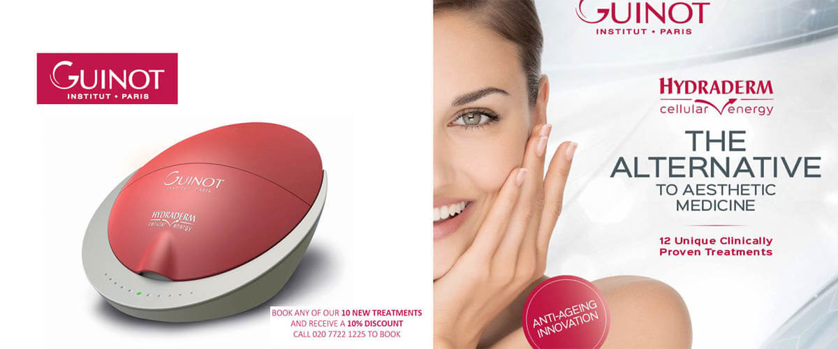 Guinot facials lifting
